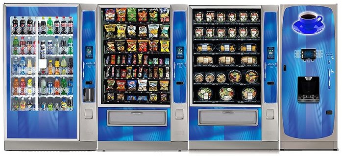 Los Angeles and Orange County's Leading Vending Service in the Greater Southern California area